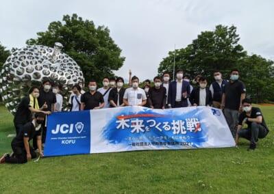 5月例会(第45回山の都親子ふれあい写生大会)が開催されました。