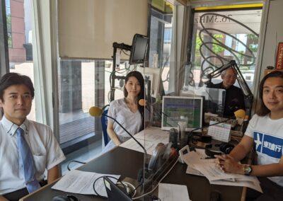 FM KOFUのラジオ番組「フリーダム!」に出演しました。(7月)