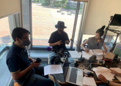 FM KOFUのラジオ番組「フリーダム!」に出演しました。(9月)